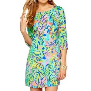 Lilly Pulitzer Carol Shift Dress in Hot Spot